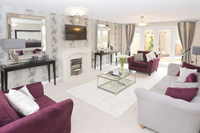 "Thumbnail Detached house for sale in ""Henley"" at Hassall Road, Alsager, Stoke-On-Trent"