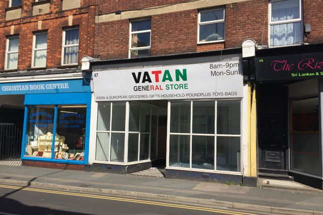 Thumbnail Retail premises to let in Northdown Road, Cliftonville, Margate