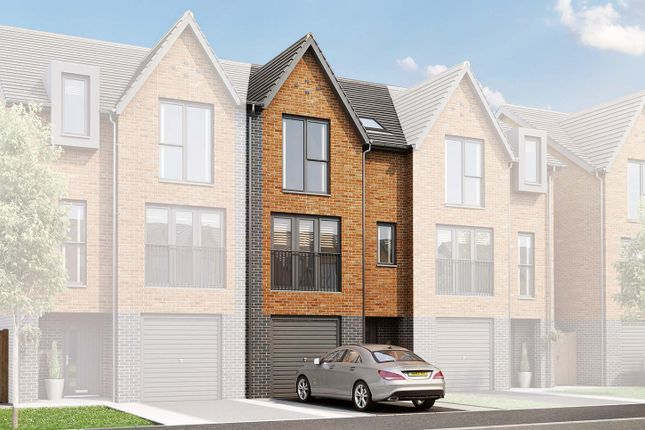 "3 bed terraced house for sale in ""The Portland"" at Edge Lane, Droylsden, Manchester M43"