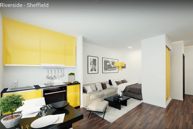 1 bed flat for sale in Priestley Street, Sheffield