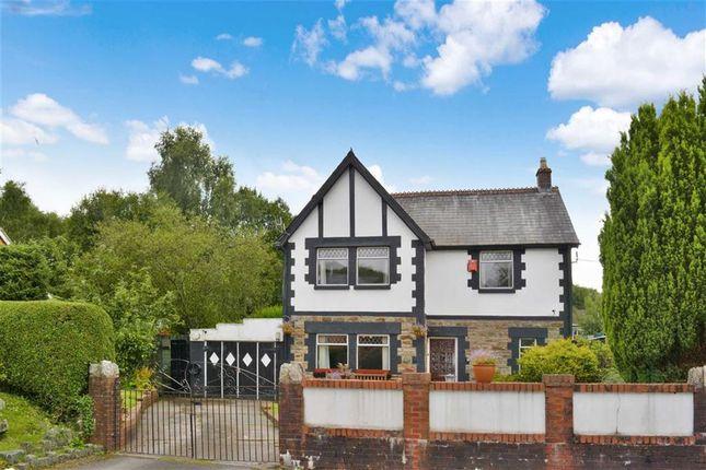 Thumbnail Detached house for sale in Wenallt Road, Aberdare, Rhondda Cynon Taff