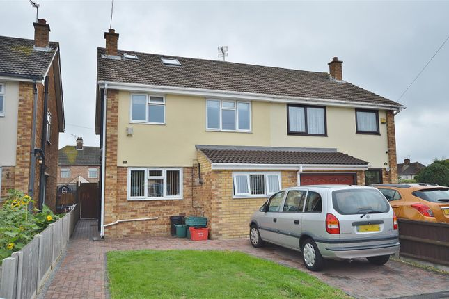 Thumbnail Semi-detached house for sale in Knox Road, Clacton-On-Sea
