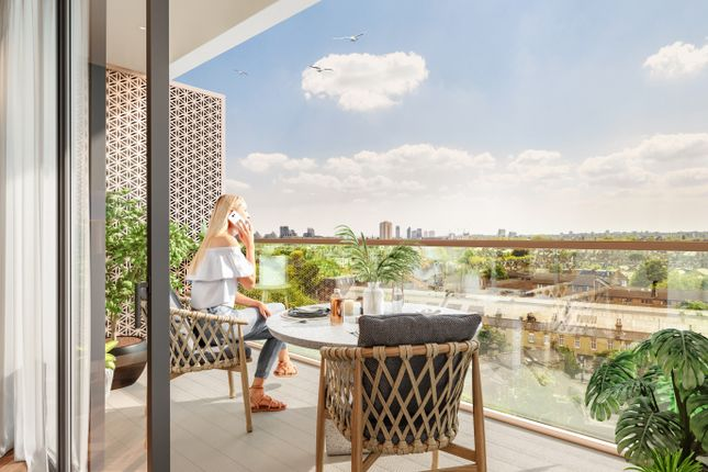 Thumbnail Flat for sale in King's Road Park, King's Road