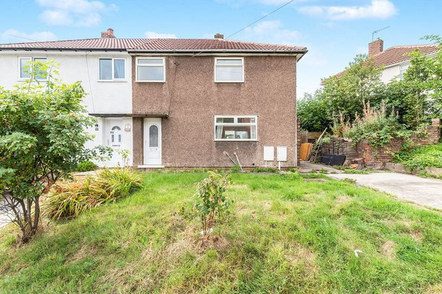 Thumbnail Semi-detached house for sale in Bower Farm Road, Old Whittington, Chesterfield