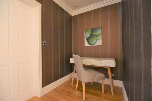 Study Area of Apartment 13 Limehurst Hall, St Margaret's Road, Bowdon WA14
