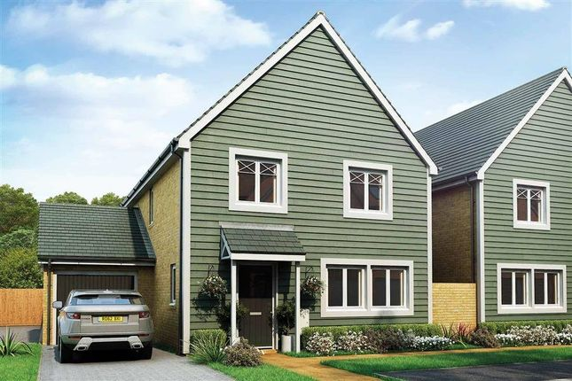 Thumbnail Link-detached house for sale in Nugent Close, Church Crookham, Fleet