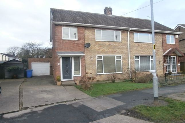 Thumbnail Semi-detached house to rent in Beech Avenue, Bilton, Hull