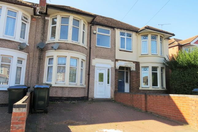 Thumbnail Terraced house to rent in Cheveral Avenue, Radford, Coventry