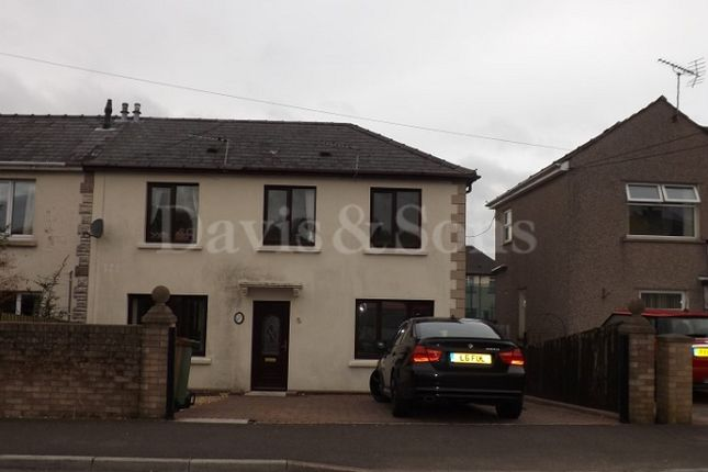 Thumbnail Semi-detached house to rent in Cefn Fforest Avenue, Cefn Fforest, Blackwood, Caerphilly.