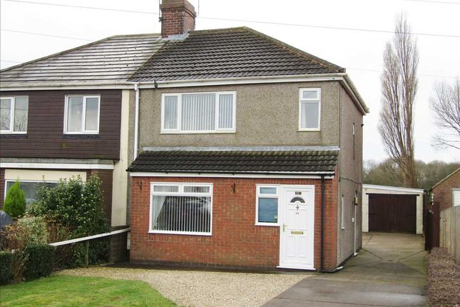 Thumbnail Semi-detached house to rent in Doncaster Road, Gunness, Scunthorpe
