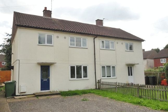 Thumbnail Semi-detached house to rent in St. Edmonds Road, Hurley, Atherstone