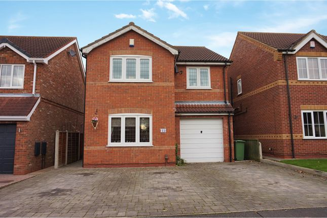 Thumbnail Detached house for sale in Primrose Way, Cleethorpes