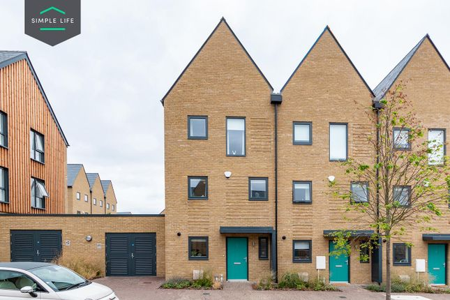 Thumbnail Terraced house to rent in Barnfield Way, Newhall, Harlow