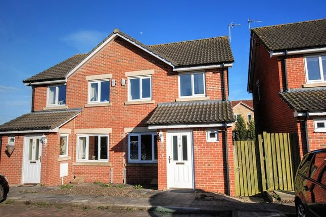 Thumbnail Terraced house to rent in Maple Drive, Widdrington, Morpeth