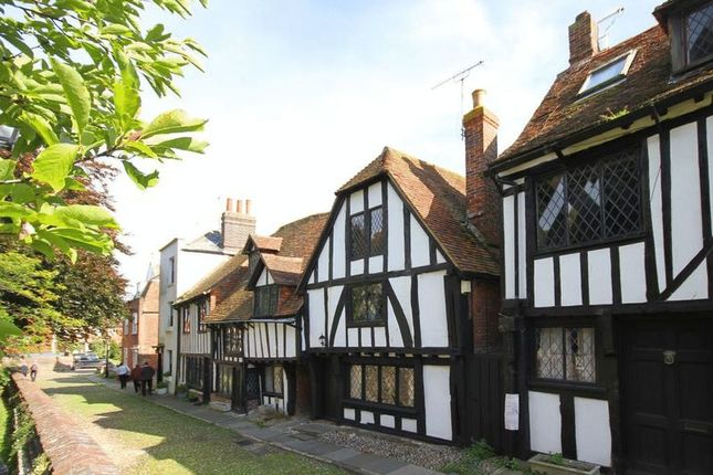 Thumbnail End terrace house for sale in Church Square, Rye