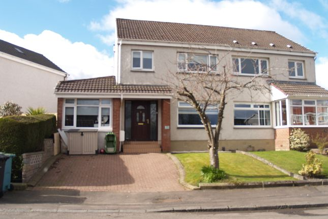 Thumbnail Semi-detached house for sale in Moray Avenue, Airdrie