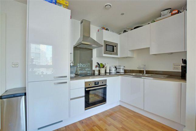 Kitchen of Empire Reach, 4 Dowells Street, Greenwich, London SE10