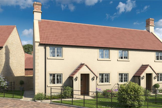 Thumbnail Semi-detached house for sale in Dove Cottage, Church Farm, Frome Road, Rode