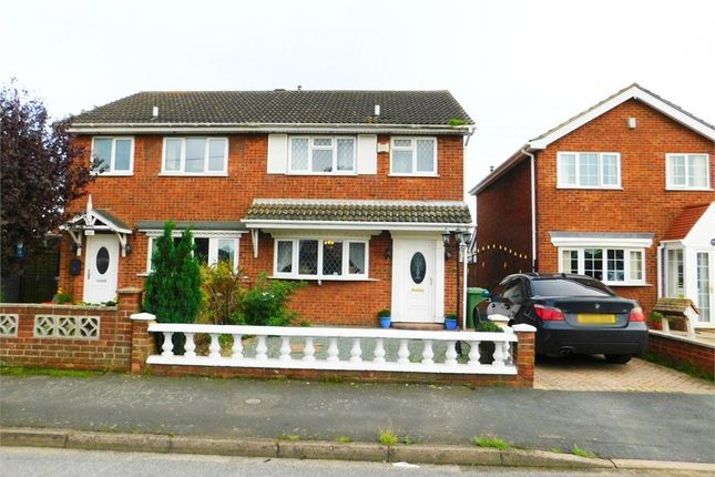 Thumbnail Semi-detached house for sale in Woodlands Avenue, Immingham, Lincolnshire
