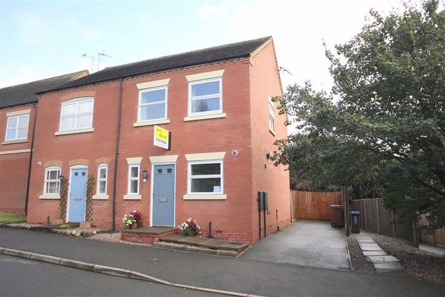 Thumbnail Semi-detached house for sale in Broomfields Close, Tean, Stoke-On-Trent