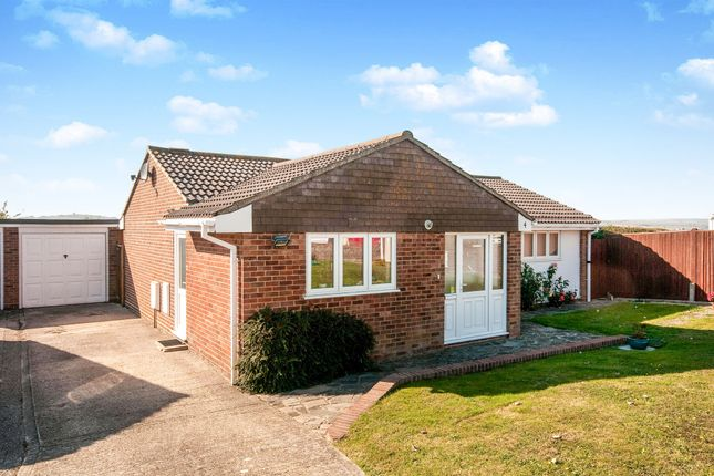 Thumbnail Detached bungalow for sale in Gleneagles Close, Bishopstone, Seaford