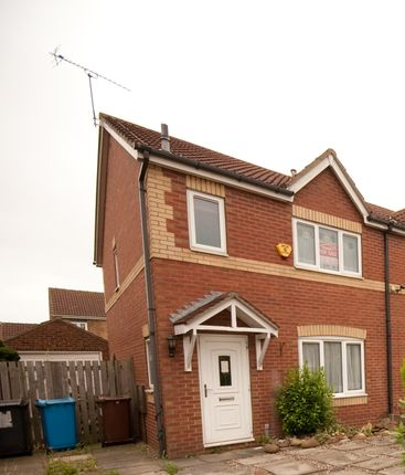 Thumbnail Semi-detached house for sale in Camilla Close Victoria Dock, Hull, Hull