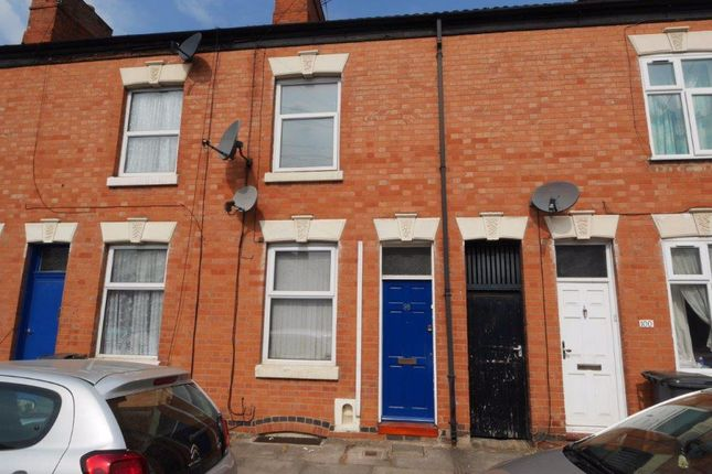 Thumbnail Terraced house to rent in Carlisle Street, Leicester