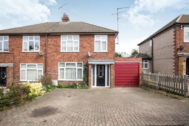 Thumbnail Semi-detached house for sale in Summer Street, Slip End, Luton