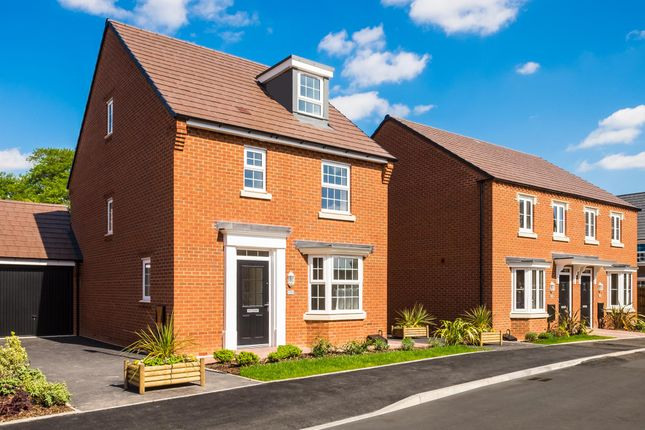 """Thumbnail Detached house for sale in """"Bayswater"""" at Fen Street, Brooklands, Milton Keynes"""