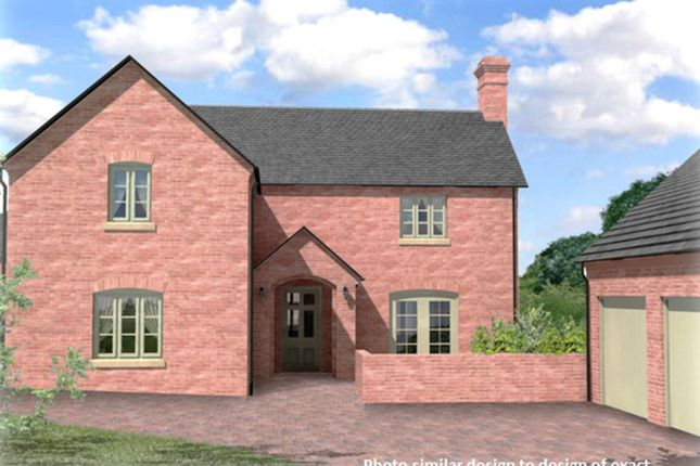 Thumbnail Detached house for sale in William Ball Drive, Horsehay, Telford, Shropshire
