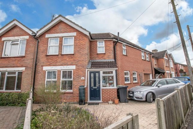 Thumbnail Semi-detached house for sale in Longmead Avenue, Bishopstoke, Eastleigh