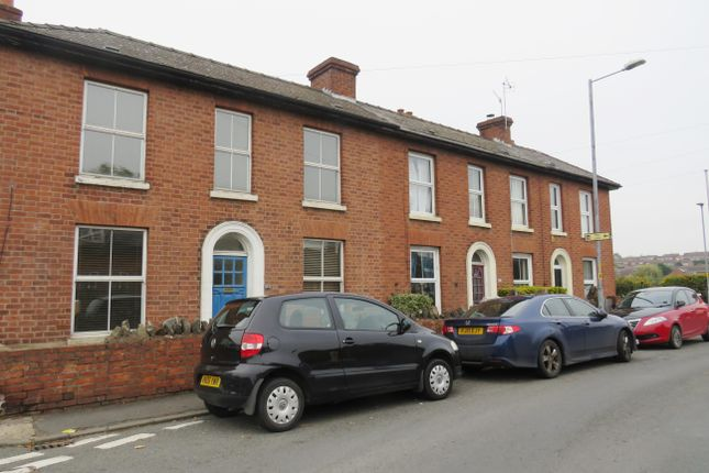 Thumbnail End terrace house to rent in Lansdowne Road, Worcester