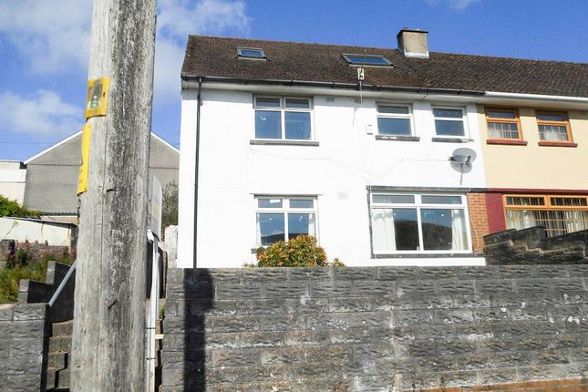 Thumbnail Semi-detached house for sale in Danybryn, Porth