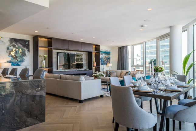 Thumbnail Flat to rent in Pinnacle House, Battersea Reach