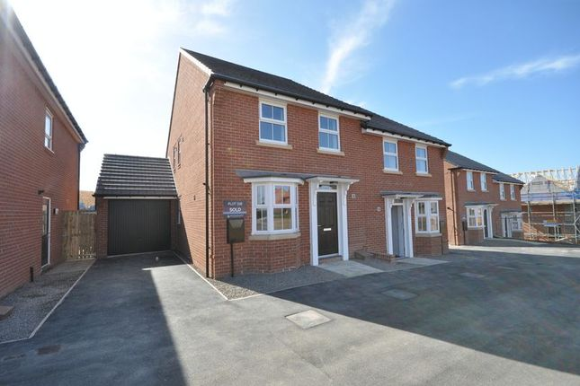 Thumbnail Semi-detached house to rent in Nightingale Drive, Whitby