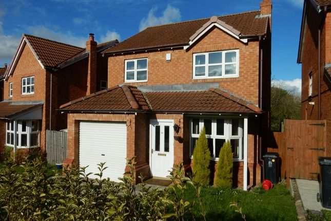 Thumbnail Detached house to rent in Highfields, Tow Law, Bishop Auckland