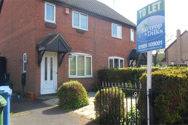 Thumbnail Semi-detached house to rent in Manor Grove, Worksop, Nottinghamshire