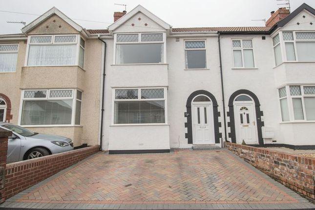 Thumbnail Terraced house for sale in Stradbrook Avenue, Kingswood, Bristol