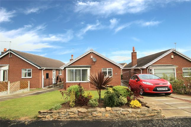 Thumbnail Detached bungalow for sale in Greenwood Close, Upton, West Yorkshire