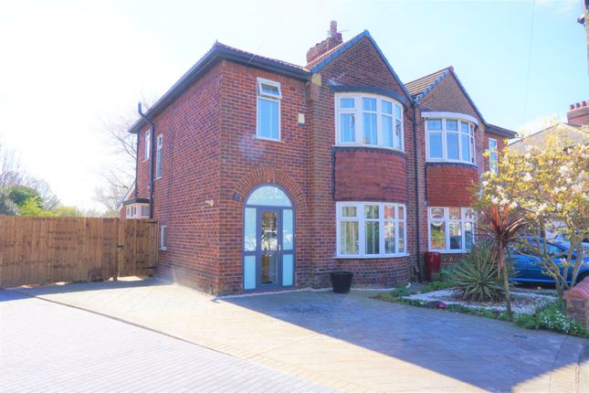 Thumbnail Semi-detached house for sale in May Road, Manchester