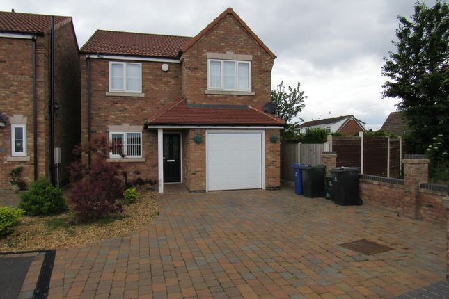 Thumbnail Detached house for sale in Hunster Grange, Stripe Road, Rossington, Doncaster