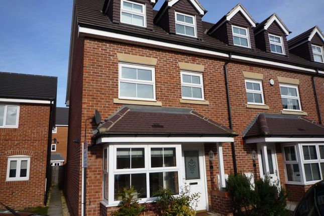 Thumbnail End terrace house to rent in Connaught Gardens, Thatcham