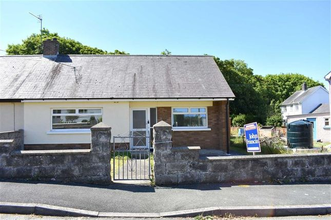 Thumbnail Semi-detached bungalow for sale in Cylch Peris, Llanon, Ceredigion