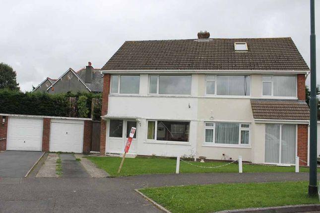 Thumbnail Semi-detached house to rent in 25 Erw Goch, Waunfawr, Aberystwyth