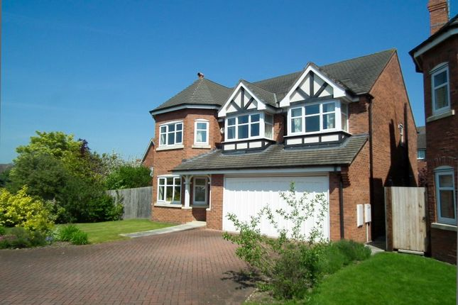 Thumbnail Detached house to rent in Burnell Close, Stapeley, Nantwich