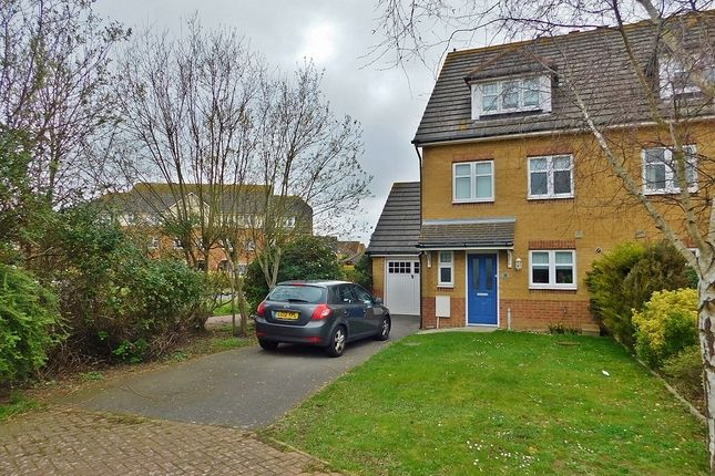 Thumbnail End terrace house to rent in Fitzroy Drive, Lee-On-The-Solent