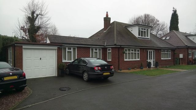 Thumbnail Bungalow for sale in Detached Bungalow, Brook Lane, Walsall Wood, Aldridge Border