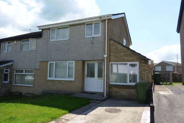 Thumbnail Semi-detached house to rent in Highdale Close, Llantrisant