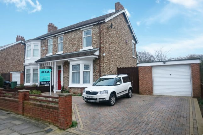 3 bed semi-detached house for sale in Stanhope Road, Stockton-On-Tees