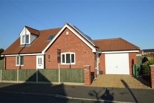 Thumbnail Detached bungalow for sale in Bramble Avenue, Hellesdon, Norwich